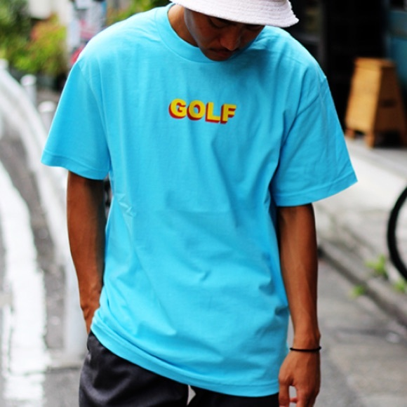 a372e086331a golf wang Other - GOLF WANG RARE BLUE 3D TEE